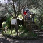 Congresistas recorriendo Mina La Jayona en las I Jornadas Ibéricas de Patrimonio geológico y Minero TICCIH España y Portugal