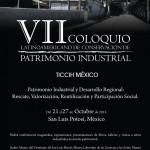 Ticcih México celebra el VII Coloquio Latinoamericano de Conservación del Patrimonio Industrial