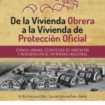 El Congreso sobre Vivienda Obrera y Patrimonio Industrial de TICCIH en Parla en Junio expondrá  trabajos y experiencias españolas  e internacionales