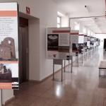 Exposición de los 100 elementos de patrimonio industrial en España de TICCIH en la Escuela de Minas de Almadén