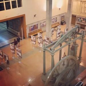 Vista Exposición en la ETSII Madrid