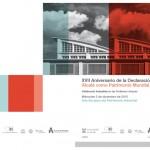 Jornada sobre Patrimonio Industrial 2 diciembre en la Universidad de Alcalá de Henares