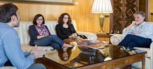 Pilar Biel secretaria de TICCIH y Ascensión Hernández