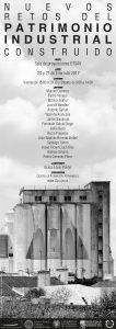 poster anunciador Jornada nuevos retos del Patrimonio Industrial