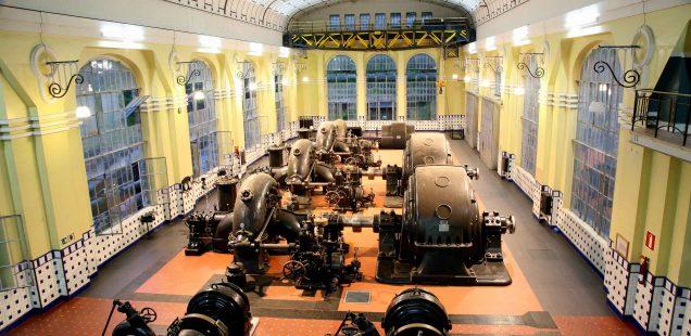 Actos conmemorativos del Centenario de la Central Hidroeléctrica de Seira en Huesca, memoria y patrimonio historico industrial