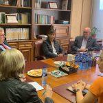 El presidente de TICCIH, Miles Oglethorpe visita Pozos mineros en Asturias e interviene en las XXI Jornadas de Patrimonio Industrial de INCUNA