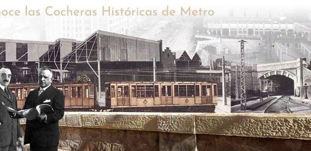 En el centenario del Metro de Madrid  se pone en marcha una site sobre la historia de las Cocheras de Cuatro Caminos
